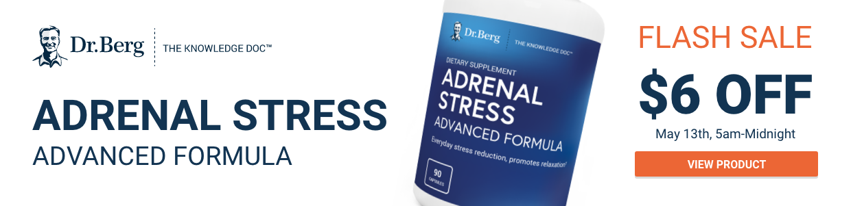 Adrenal stress advanced formula