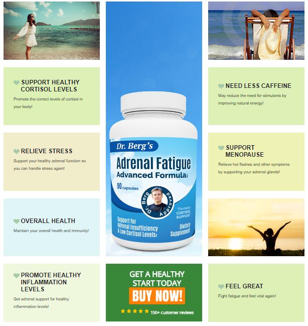 Adrenal Fatigue Advanced Formula