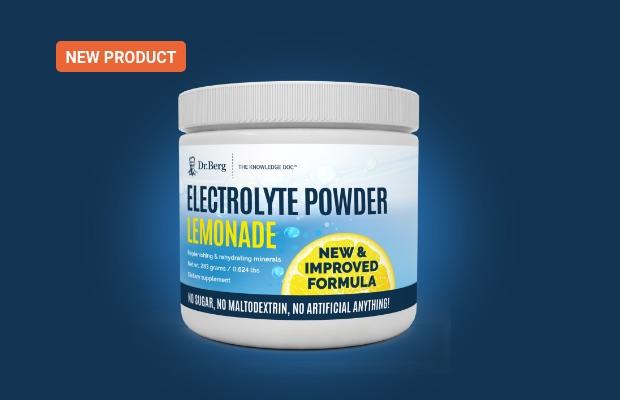 Electrolyte Powder Lemonade
