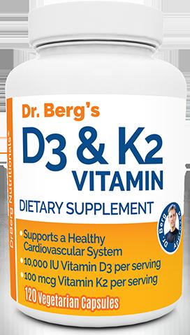 180 Tabletten Vitamin D3 10.000 I.E Vitamin K2 200 mcg Menaquinon MK7 Depot