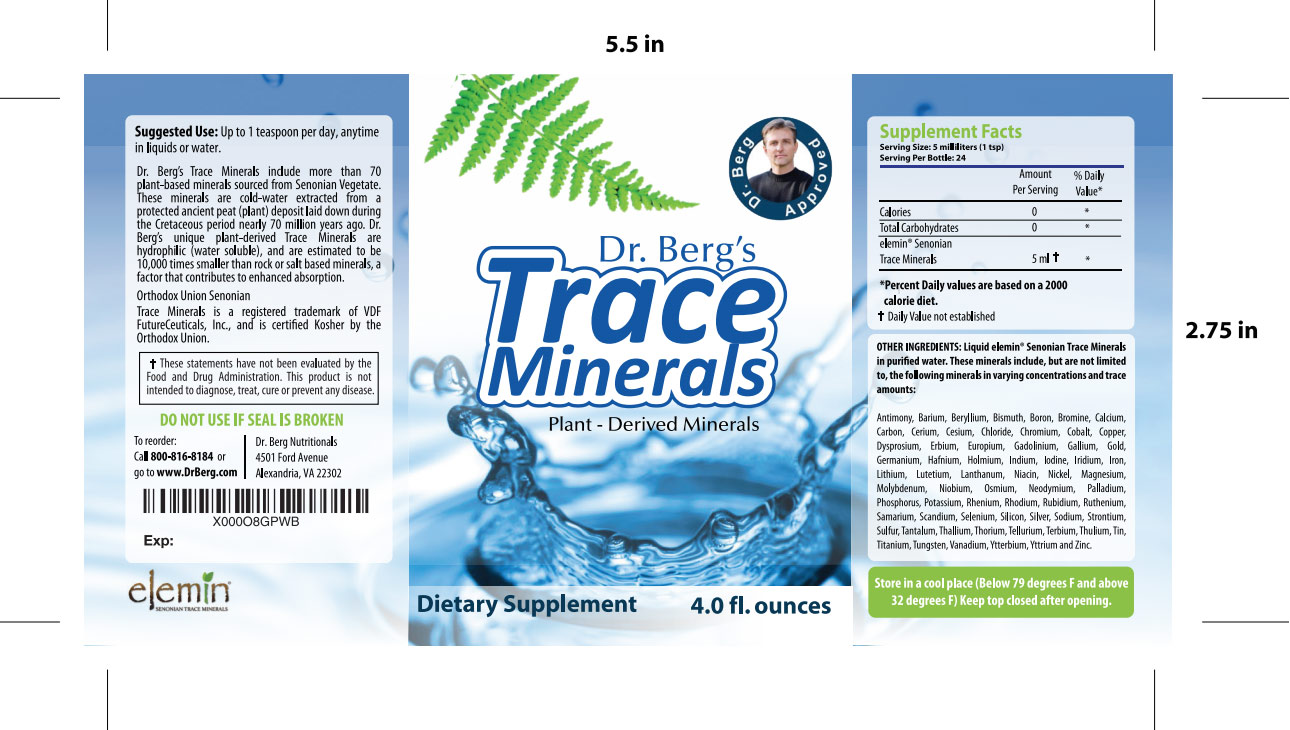 dr. berg's trace minerals